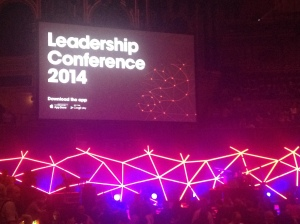 leadership conference stage