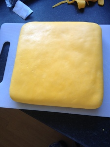 yellow icing