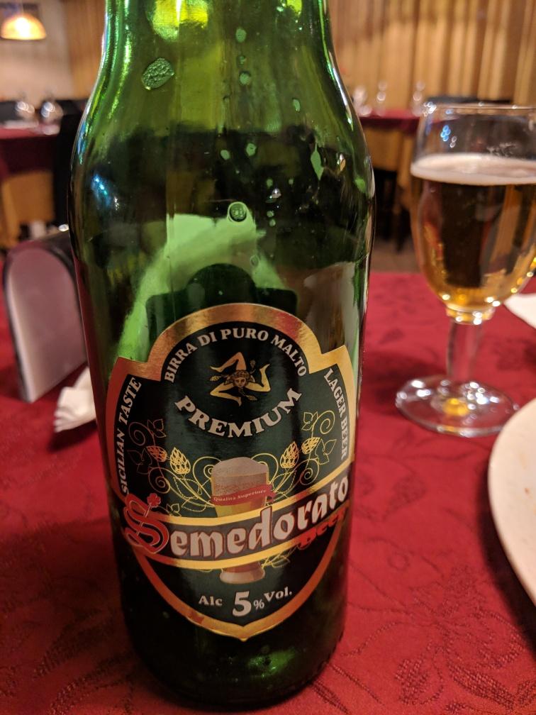 Semedorato beer